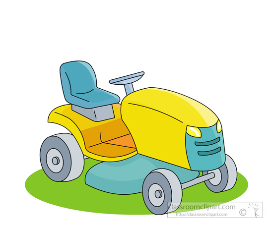 Lawn Mower Clipart No Backgrouns.