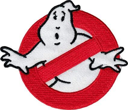 Amazon.com: Ghostbusters No Ghosts Logo.