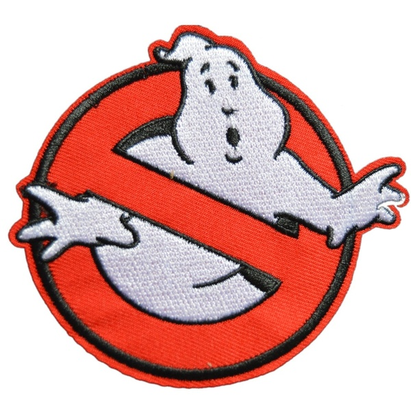 Ghostbusters Movies No Ghosts Logo Embroidered Iron/Sew On Patch 3.5.