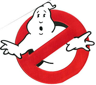GHOSTBUSTERS NO GHOST Logo Screen Accurate Large 8\