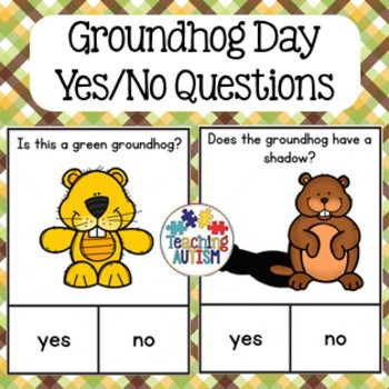 Groundhog Day Yes / No Questions.