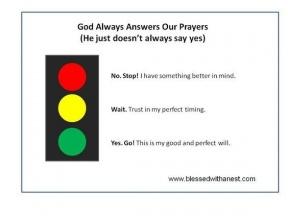 God Answers Prayers Clipart.