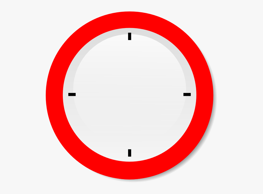 How To Set Use No Hands Modern Clock Svg Vector.
