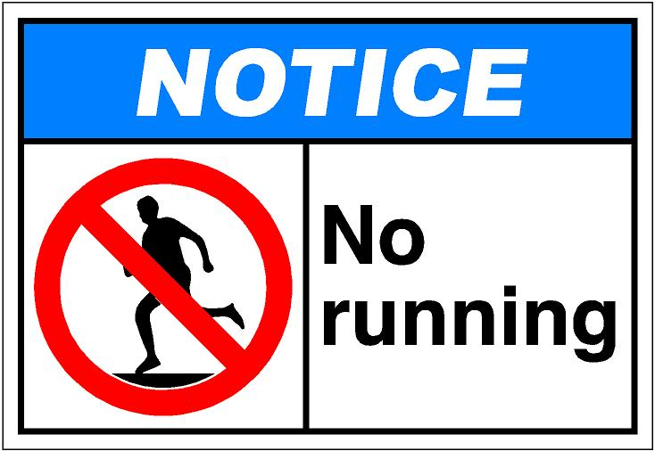 Free No Running Cliparts, Download Free Clip Art, Free Clip.