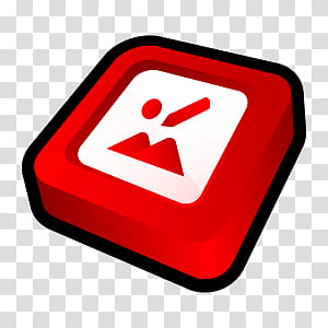 D Cartoon Icons II, Microsoft Office Manager, red and white.
