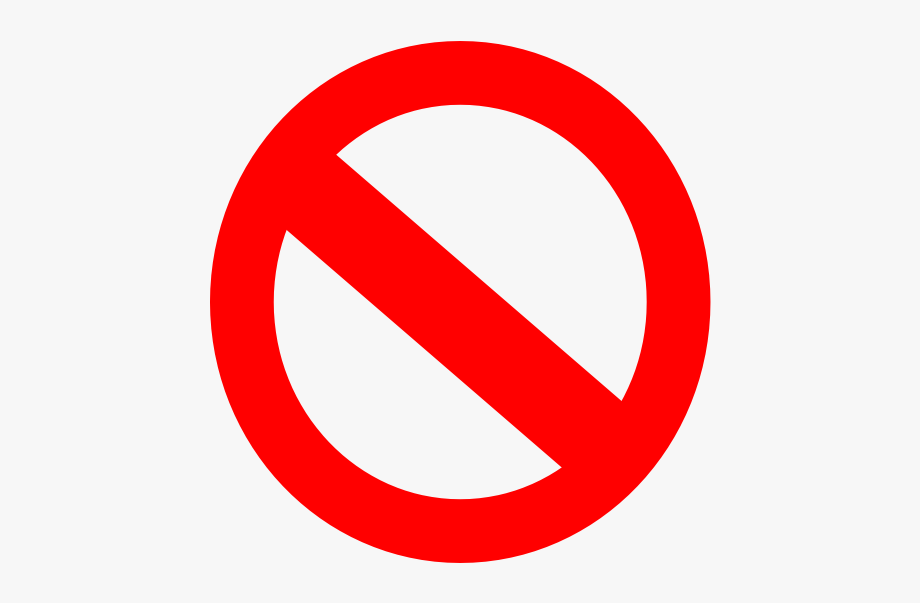 Clipart Of Symbol, Cancel And Internationally.