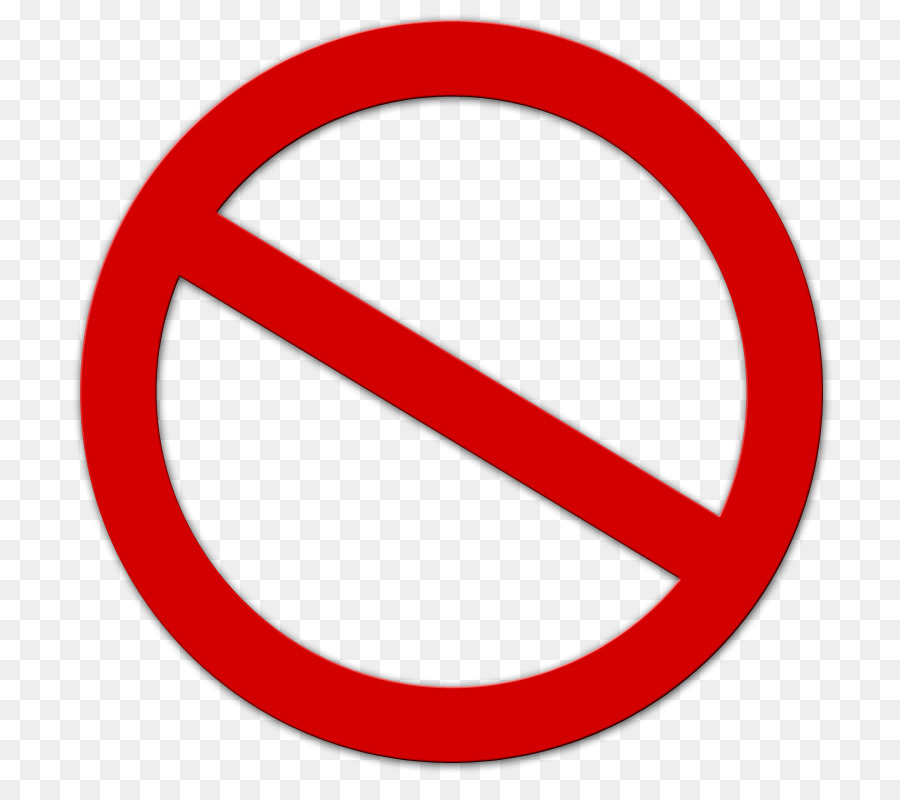 Free No Symbol Transparent Background, Download Free Clip.