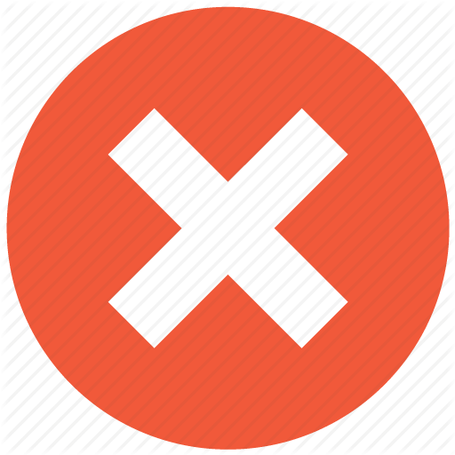 No Icon Png #412071.