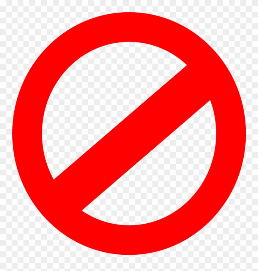 No Symbol Clip Art At Clipart Library.