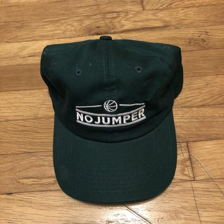 Brand new No Jumper embroidered logo hat. Adjustable.