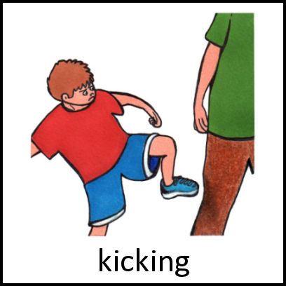 No kicking clipart 2 » Clipart Portal.