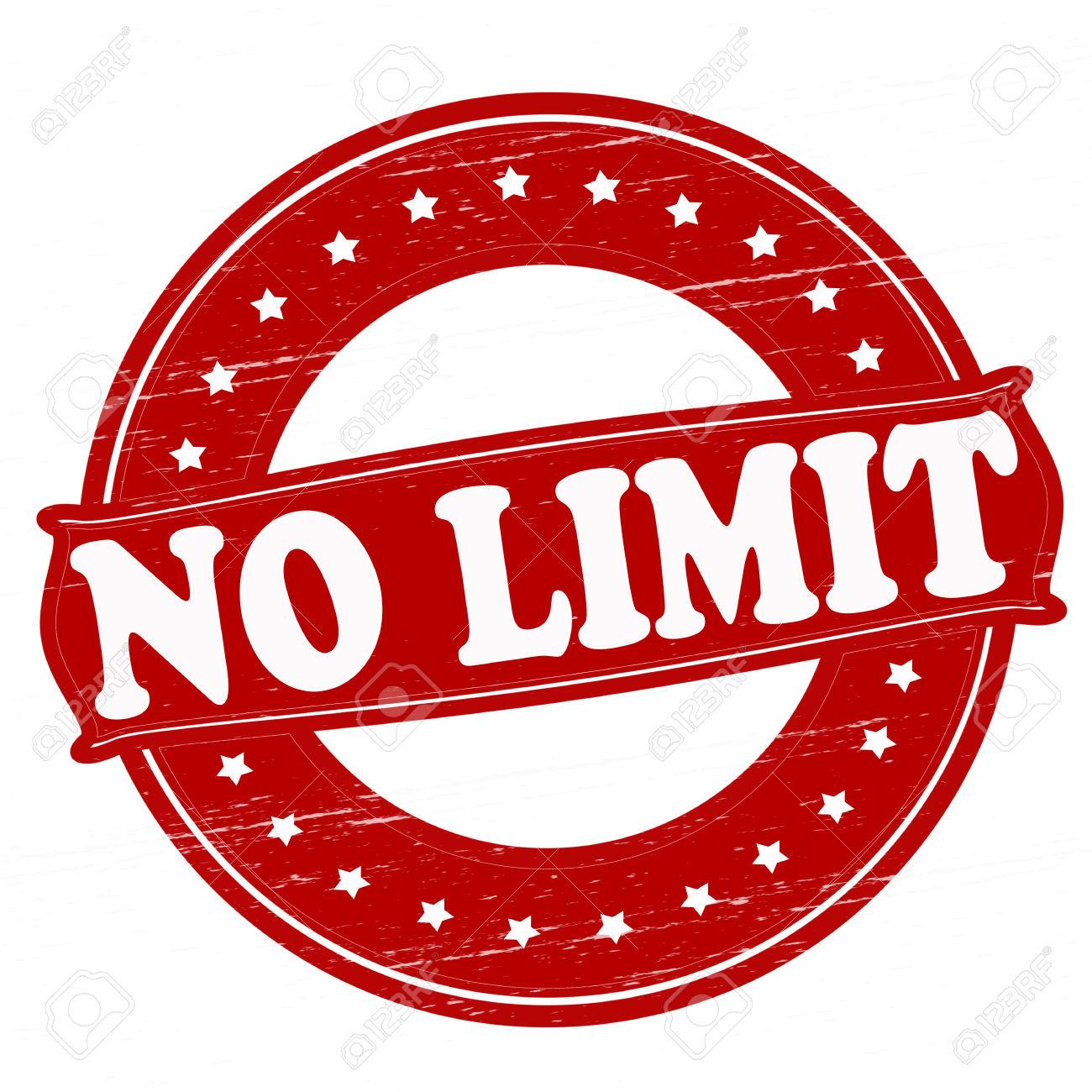 No limit clipart.