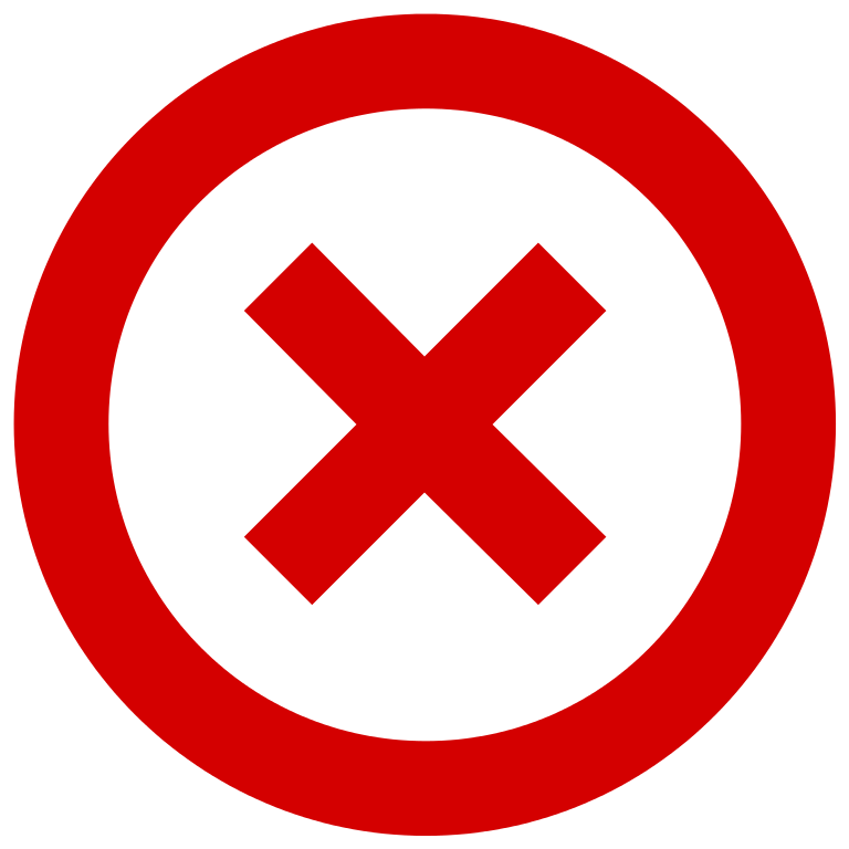 File:No Cross.svg.