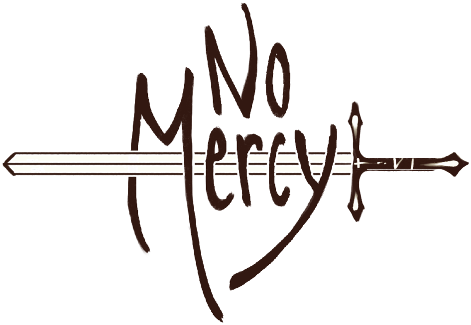 HD No Mercy Logo Stroke.