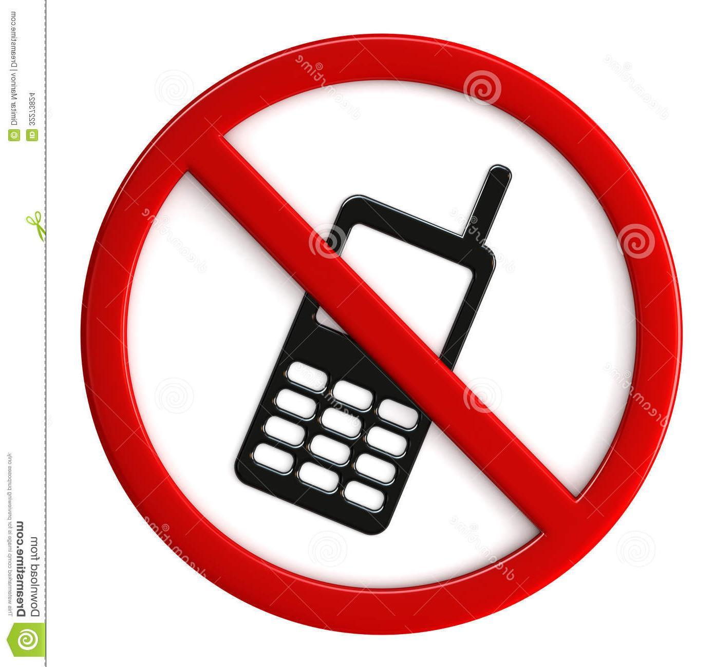 No Phone Sign.