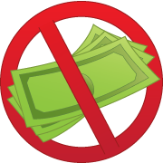 No Cash Clipart.