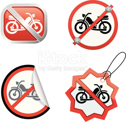 No Mopeds stock vector art 165603995.