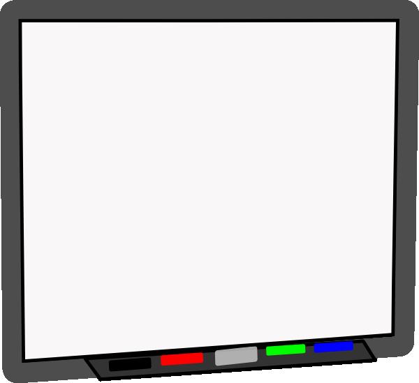 Smart Board Blank No Projector Clip Art at Clker.com.