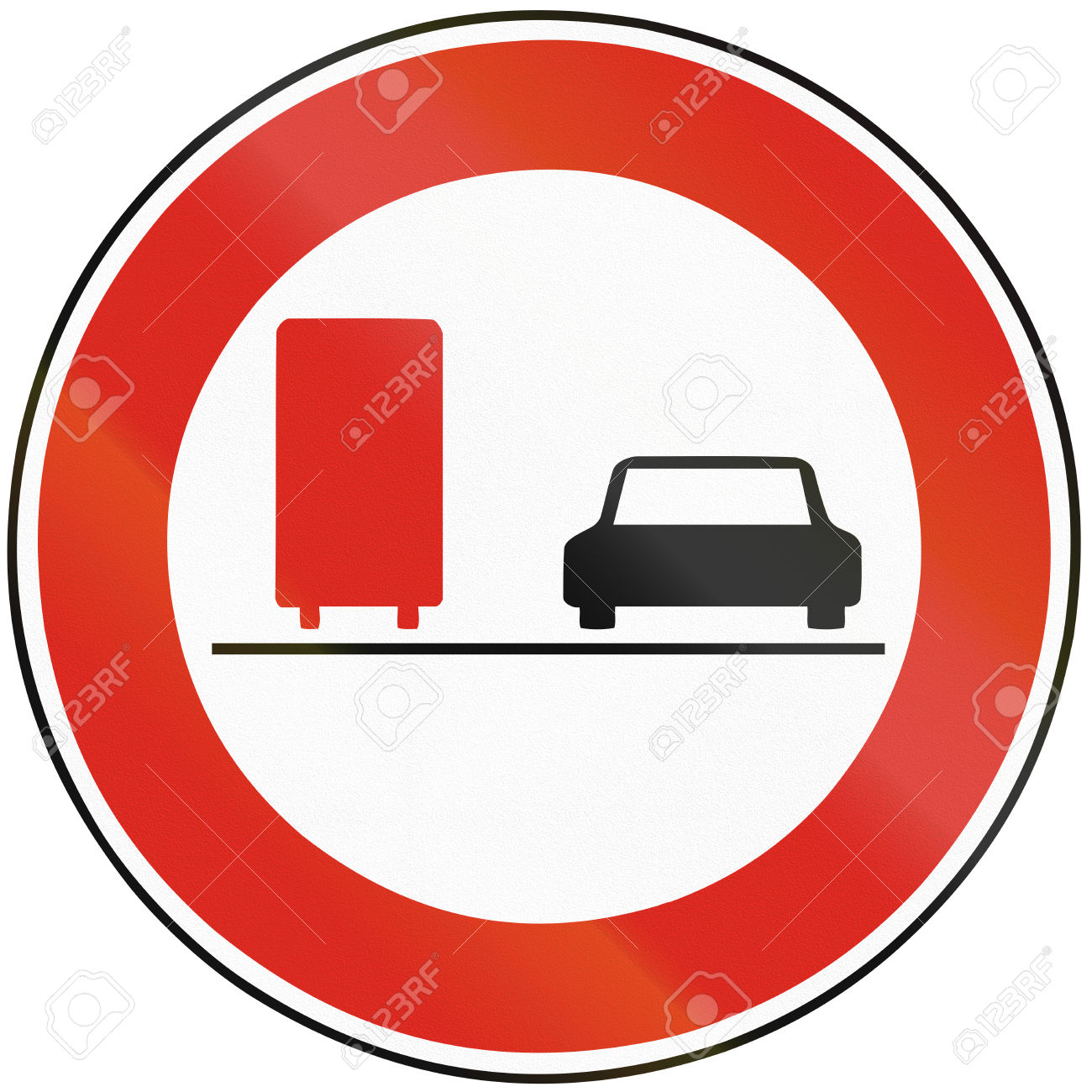 Road Sign Used In Slovakia.