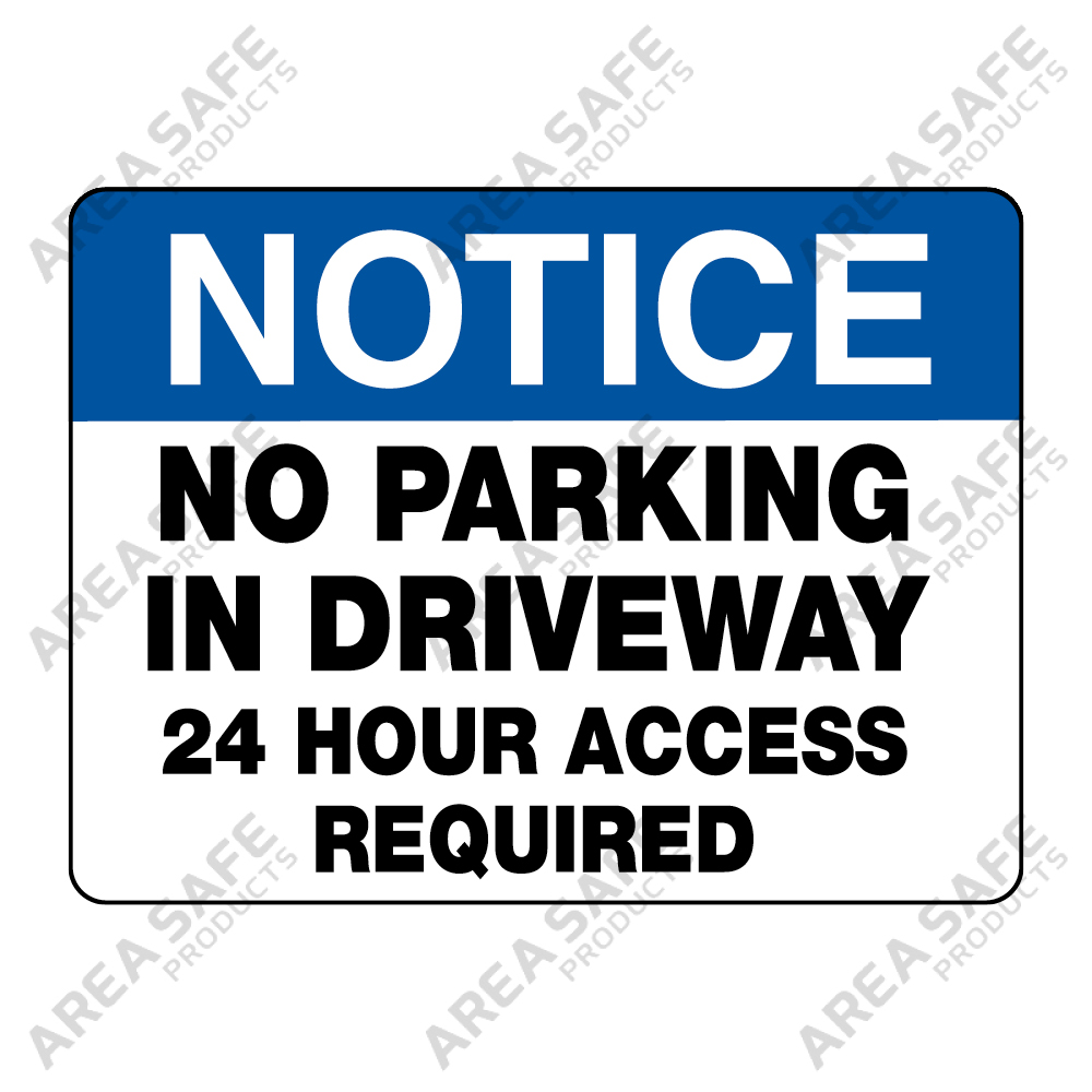 no parking in the driveway clipart #2
