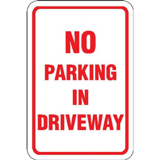 Printable No Parking Signs.