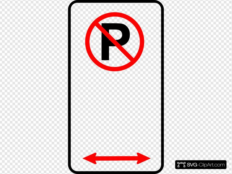 No Parking Zone Clip art, Icon and SVG.