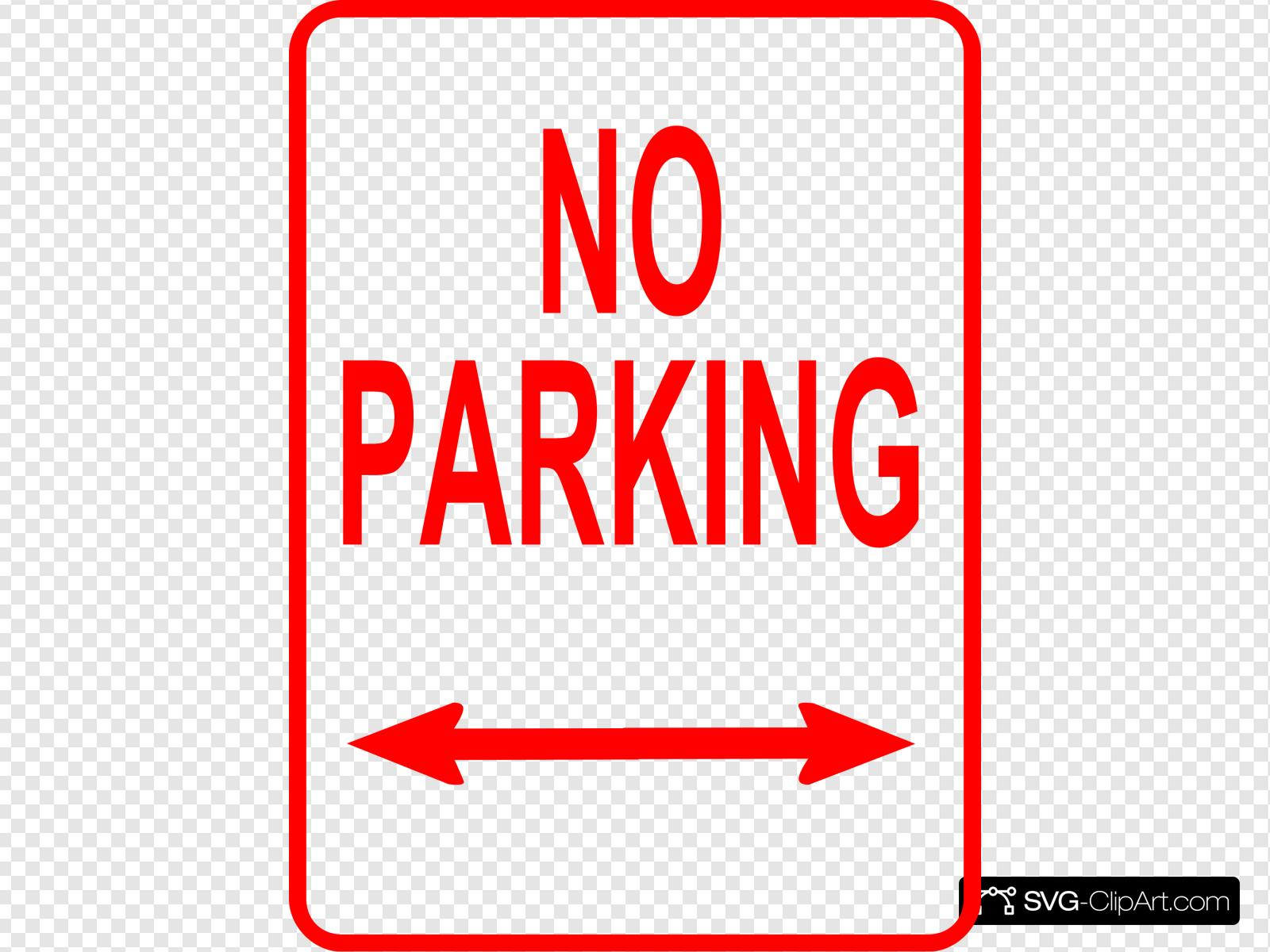No Parking Sign Clip art, Icon and SVG.