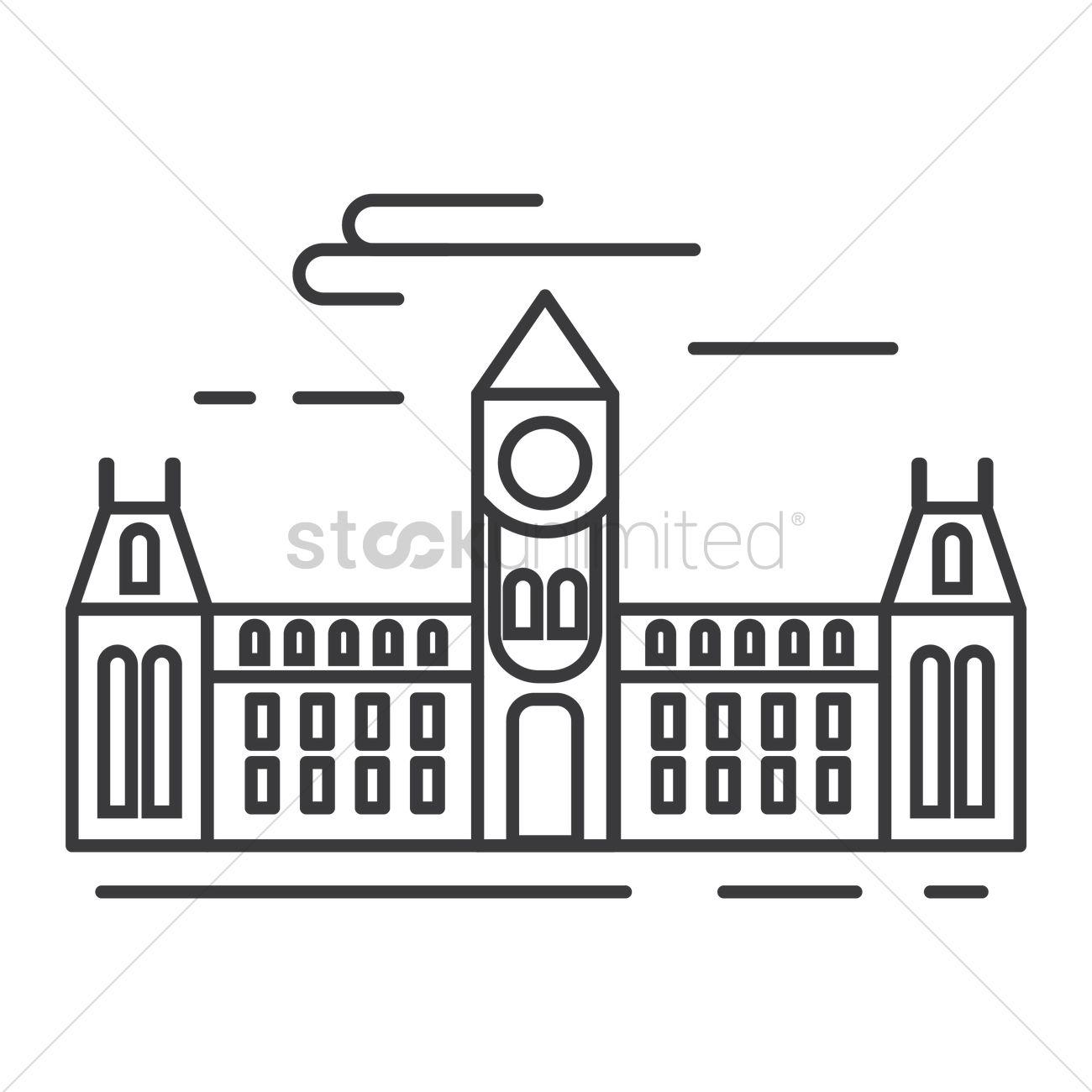 Parliament Hill Clipart.