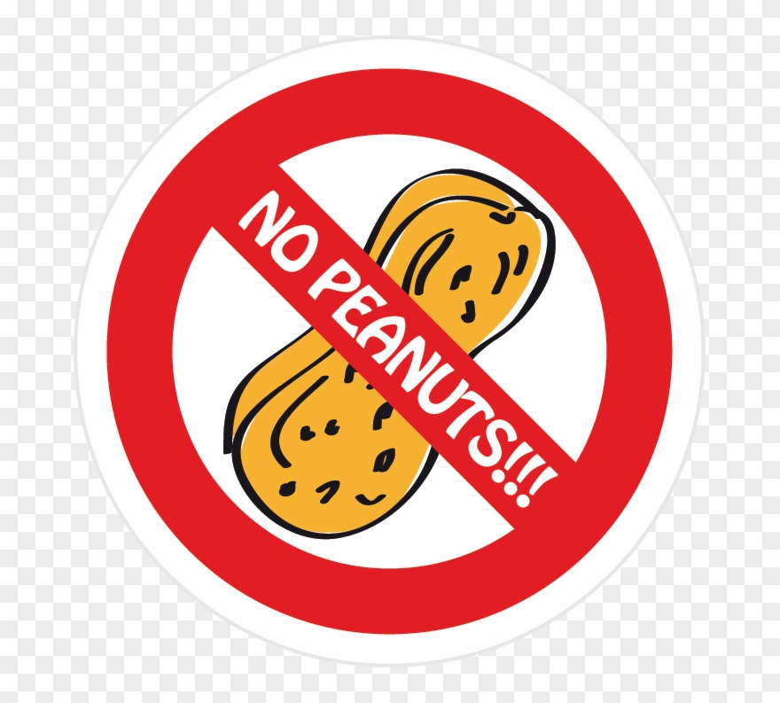 Allergy Alert Labels Gluten Intolerance Uae Peanuts Clipart.