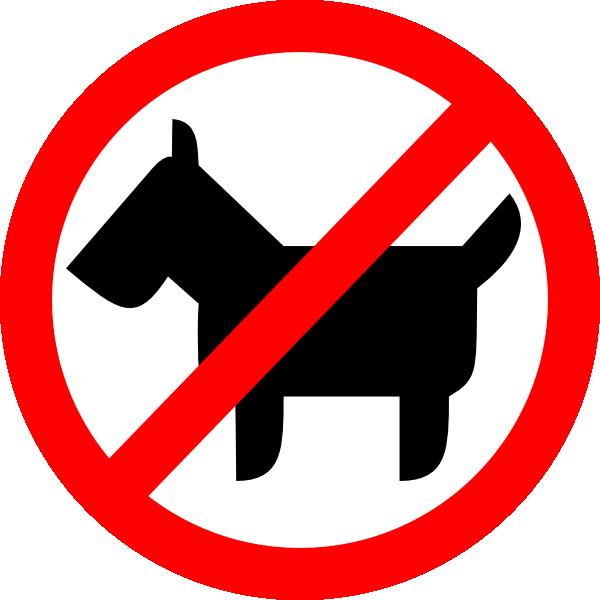 Sign No Animals Clip Art at Clker.com.