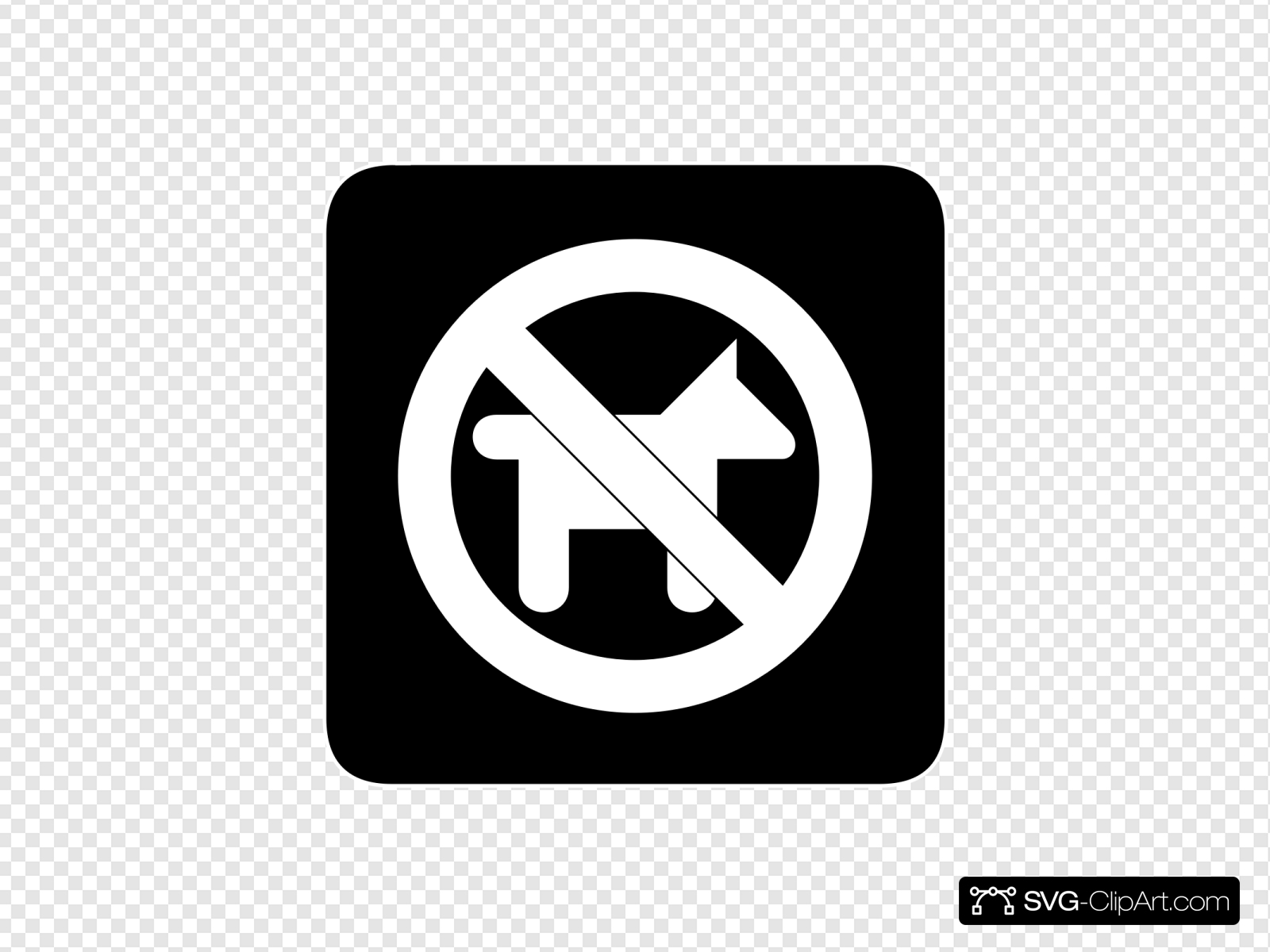 No Dogs Allowed Clip art, Icon and SVG.
