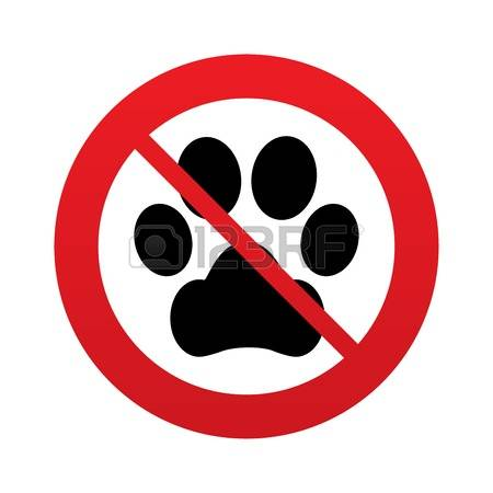 422 No Pets Allowed Stock Vector Illustration And Royalty Free No.