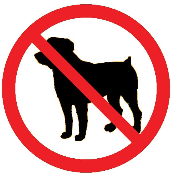 No Pets Clipart.