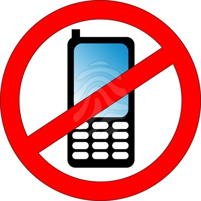 No Phone Clipart.