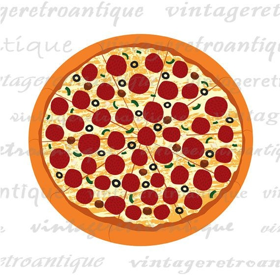 Pizza Clipart Transparent Background.