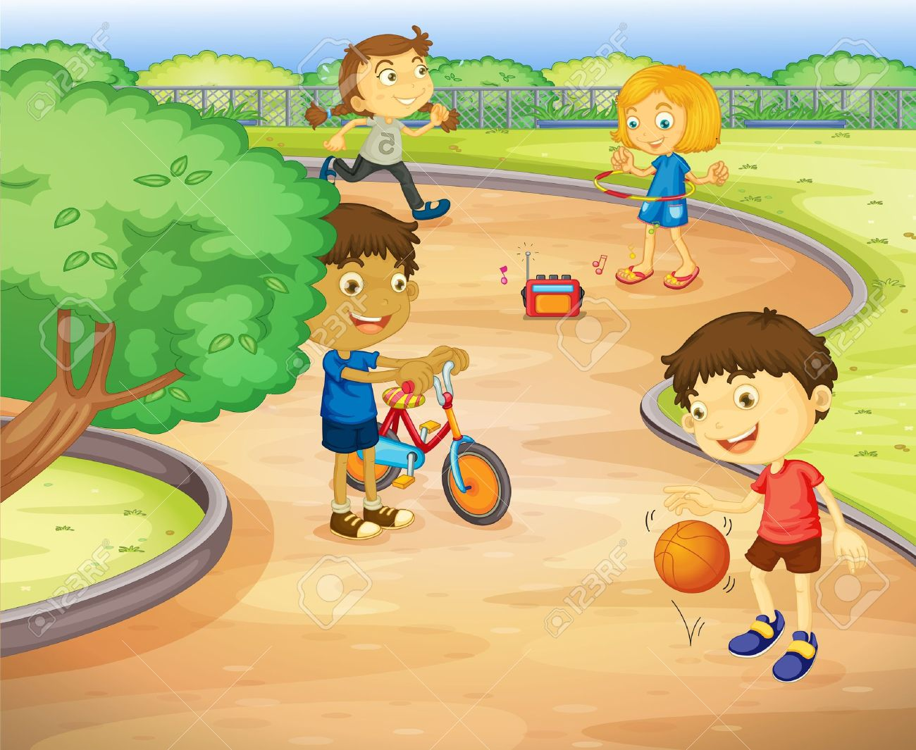 No Playing Ball In House Clipart.
