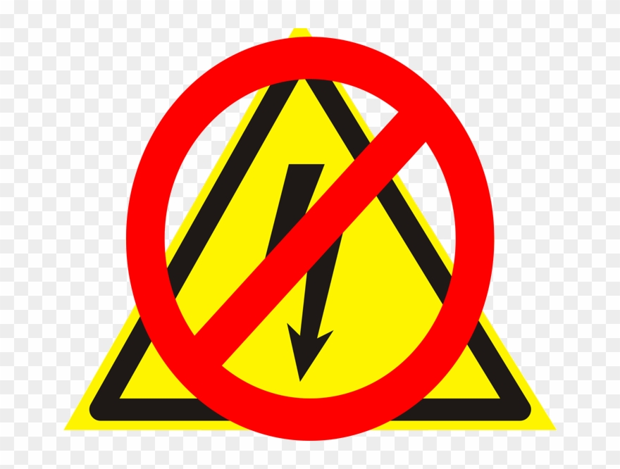 No Power Sign Clipart (#3094174).
