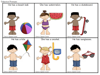 pronoun worksheets for preschoolers.