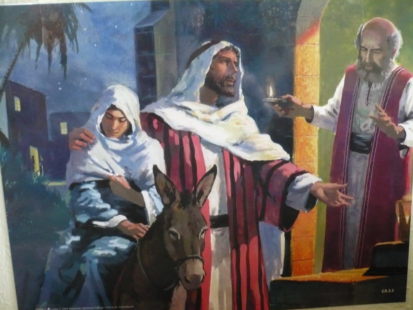 Similiar Mary Joseph Baby Jesus In The Inn Keywords.