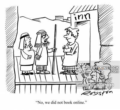 Online Booking Cartoons and Comics.