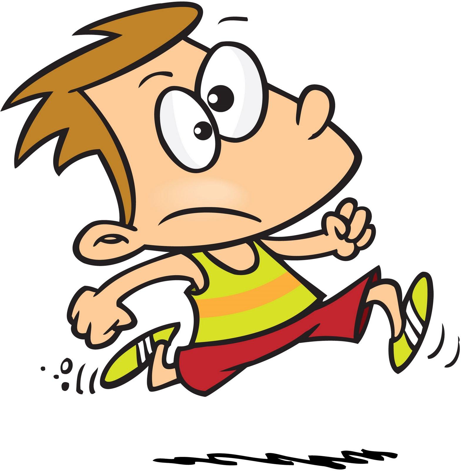 Pe class clipart running.