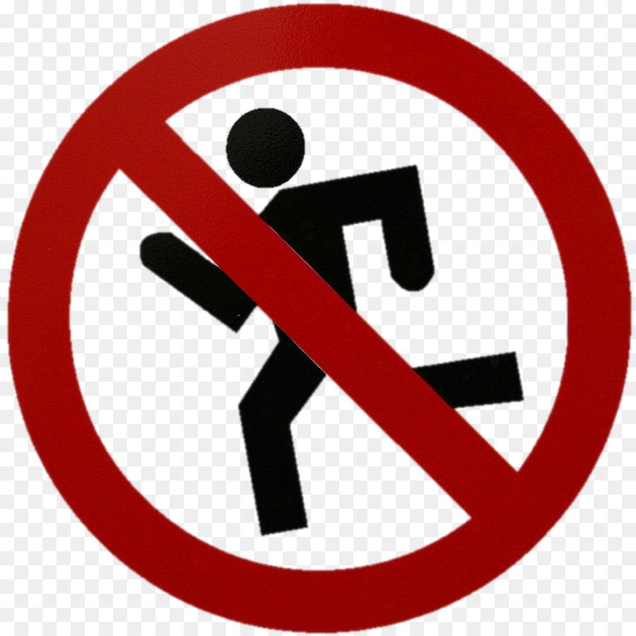 No Running Png Sign & Free No Running Sign.png Transparent.