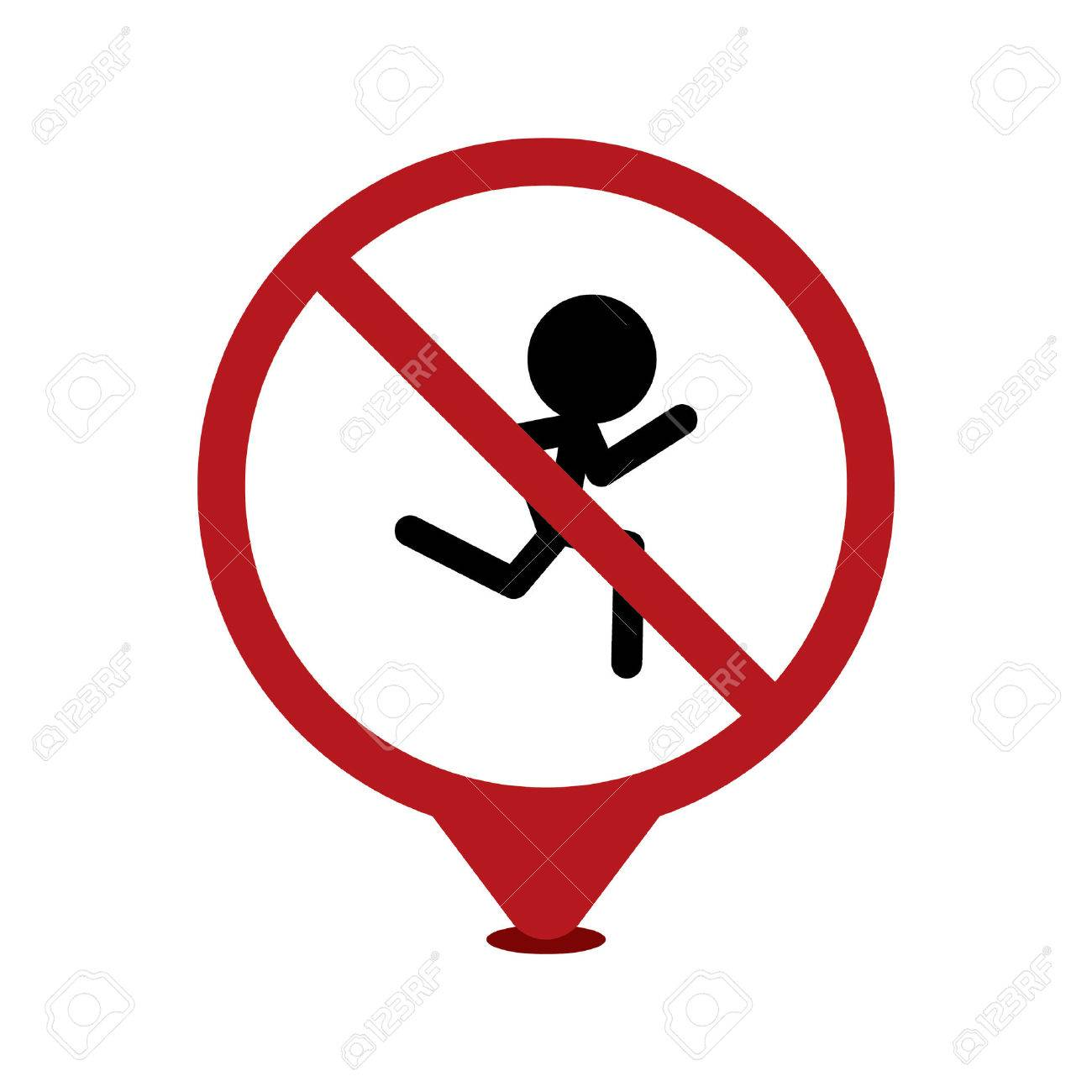 No Running Cliparts Free Download Clip Art.