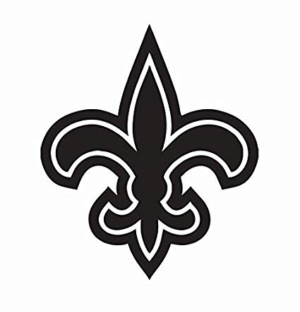 Amazon.com: New Orleans Saints NFL Football Vinyl Die Cut.