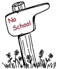 No School Sign Clipart.