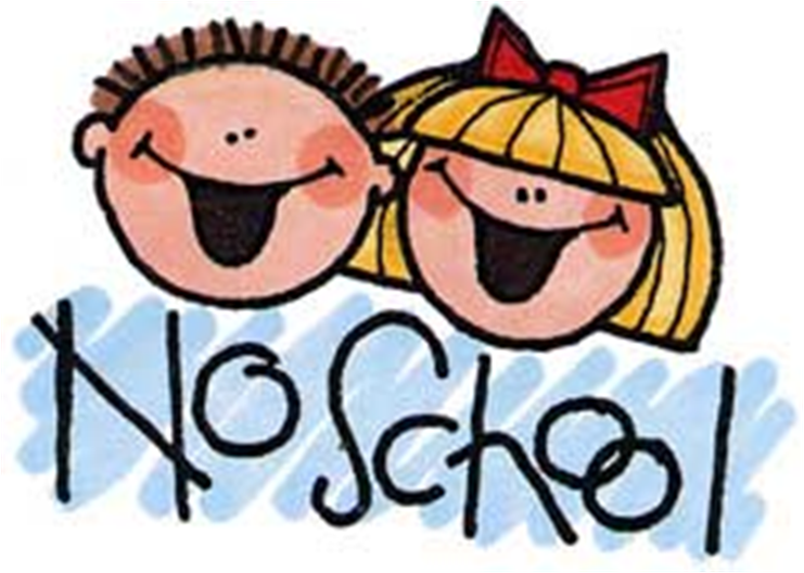 No School Clipart.