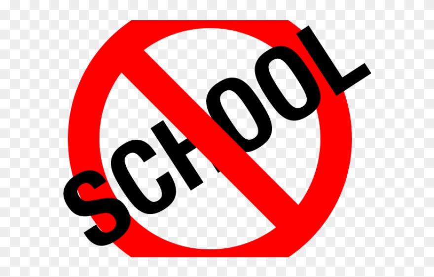 No School Clipart.