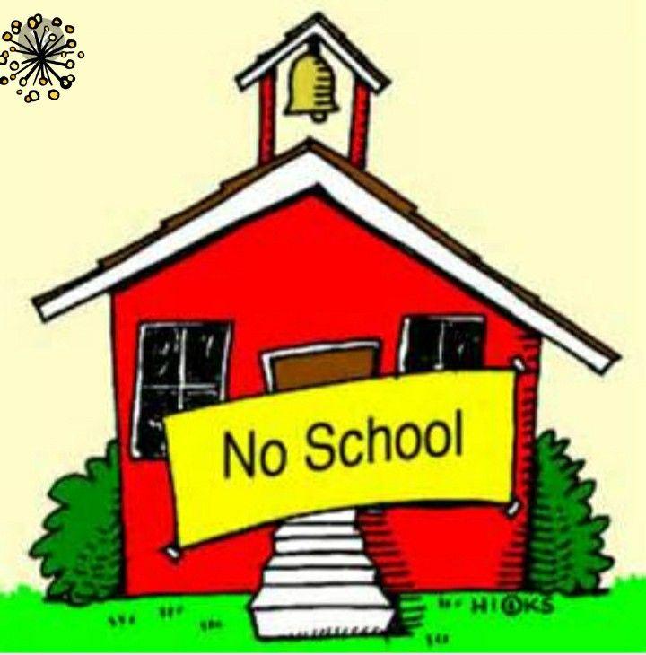No School.