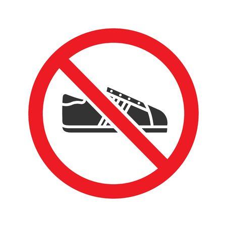 568 No Shoes Cliparts, Stock Vector And Royalty Free No.