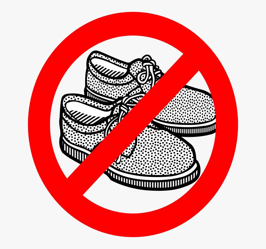 No Shoes.